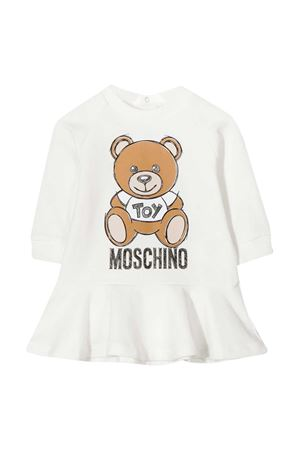 White dress with toy press Moschino kids MOSCHINO KIDS | 11 | MAV07MLDA1410063