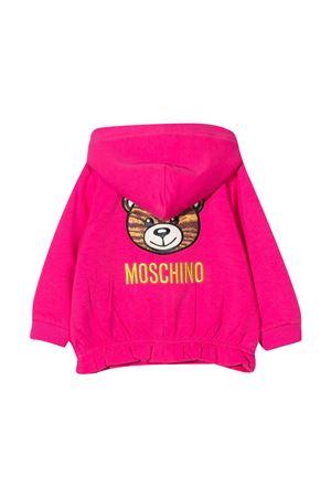Fuchsia sweatshirt Moschino kids  MOSCHINO KIDS | 5032280 | MDF021LDA1650569