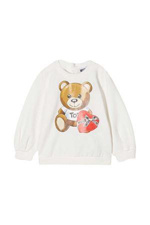 White Moschino Kids sweatshirt  MOSCHINO KIDS | -108764232 | MDF022LDA1610063