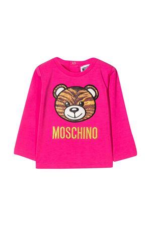 Felpa fucsia Moschino Kids MOSCHINO KIDS | 8 | MDO000LBA1250569