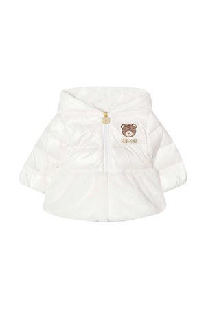 Piumino bianco imbottito con cappuccio Moschino kids MOSCHINO KIDS | 3 | MDS01ZL3A2210063