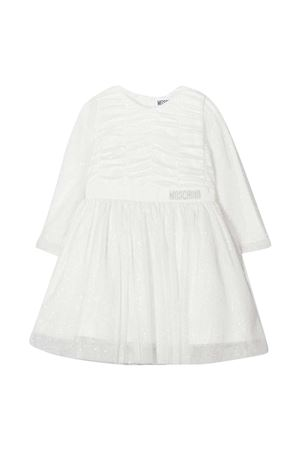 White sequined dress Moschino Kids MOSCHINO KIDS | 11 | MDV08BN0Z0410063