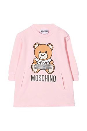 Pink sweatshirt dress Moschino Kids  MOSCHINO KIDS | 11 | MDV08CLDA1650209
