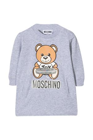 Moschino Kids gray sweatshirt dress  MOSCHINO KIDS | 11 | MDV08CLDA1660901