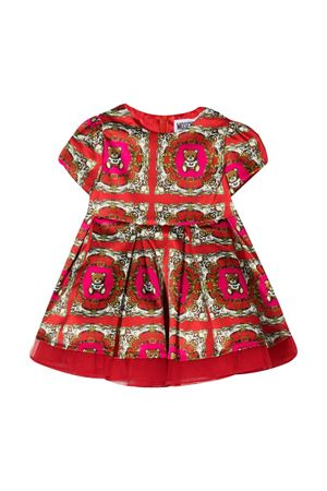 Red and fuchsia dress Moschino Kids  MOSCHINO KIDS | 11 | MDV08FLRB0683569