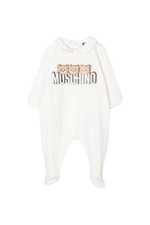 White pajamas Moschino Kids  MOSCHINO KIDS | 1491434083 | MMT01ULGA0710063