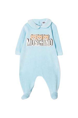 Blue pajamas Moschino Kids MOSCHINO KIDS | 1491434083 | MMT01ULGA0740304