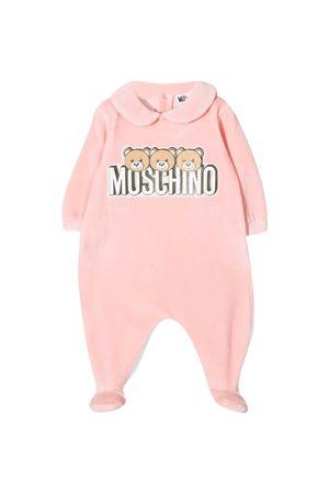 Moschino Kids pink pajamas MOSCHINO KIDS | 1491434083 | MMT01ULGA0750209
