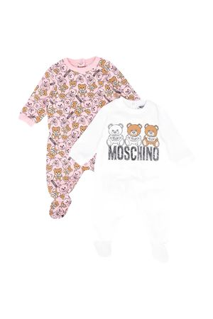 Set due tutine con stampa toy Moschino kids MOSCHINO KIDS | 1491434083 | MMY02CLBB4880407