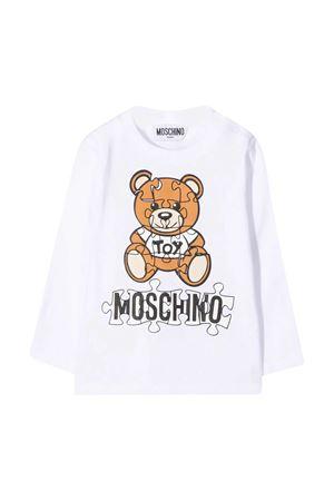 T-shirt bianca Moschino kids neonato MOSCHINO KIDS | 8 | MNO000LBA1110101