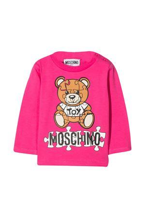Pink baby t-shirt Moschino kids  MOSCHINO KIDS | 8 | MNO000LBA1150569