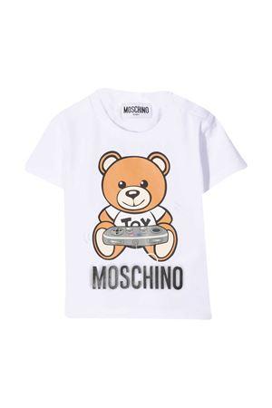 White Moschino Kids t-shirt  MOSCHINO KIDS | 8 | MPM02ALBA1210101