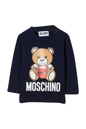 Blue sweatshirt Moschino kids newborn  MOSCHINO KIDS   8   MPO000LBA1140016