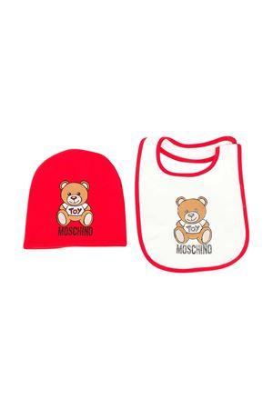 Moschino Kids hat and bib set MOSCHINO KIDS | 75988882 | MPY00XLDA1450109