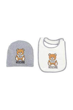 Moschino Kids gray hat  MOSCHINO KIDS | 75988882 | MPY00XLDA1460901