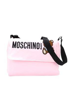 Borsa fasciatoio rosa Moschino Kids MOSCHINO KIDS | 31 | MQX036LDA1650209