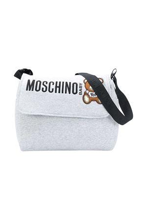 Borsa fasciatoio grigia Moschino Kids MOSCHINO KIDS | 31 | MQX036LDA1660901