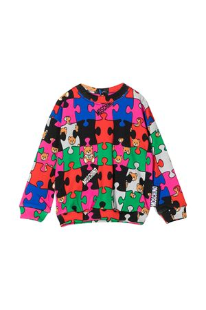 Felpa multicolor con girocollo Moschino kids MOSCHINO KIDS | -108764232 | MSF02ZLCB0980964