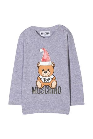 Gray sweatshirt Moschino Kids MOSCHINO KIDS | 8 | MSO000LBA2260901