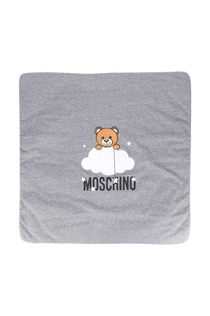 Coperta grigia con stampa centrale toy Moschino kids MOSCHINO KIDS | 69164127 | MUB006LCE0060901