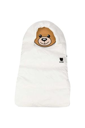 White sleeping bag Moschino Kids  MOSCHINO KIDS | -794461277 | MUE00DL3A2210063