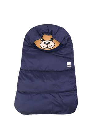 Blue sleeping bag Moschino Kids  MOSCHINO KIDS | -794461277 | MUE00DL3A2240016