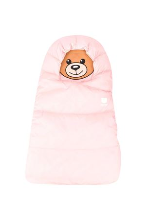 Pink Sleeping bag Moschino Kids  MOSCHINO KIDS | -794461277 | MUE00DL3A2250209