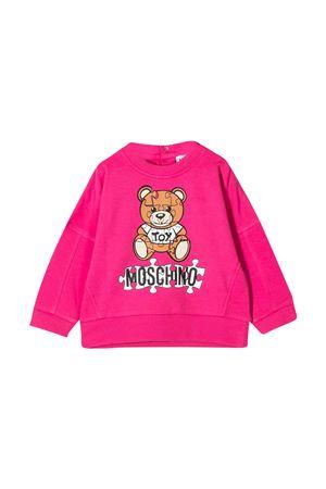 Felpa fucsia Moschino Kids MOSCHINO KIDS | -108764232 | MUF039LDA1450569