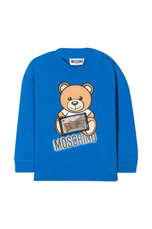 Blue sweatshirt Moschino Kids MOSCHINO KIDS | -108764232 | MUF03ALDA1640515