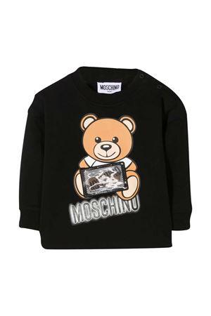 Black sweatshirt Moschino Kids MOSCHINO KIDS | -108764232 | MUF03ALDA1660100