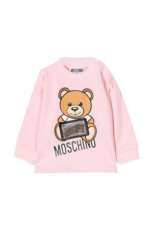 Pink sweatshirt Moschino Kids  MOSCHINO KIDS | 8 | MUO002LBA1250209