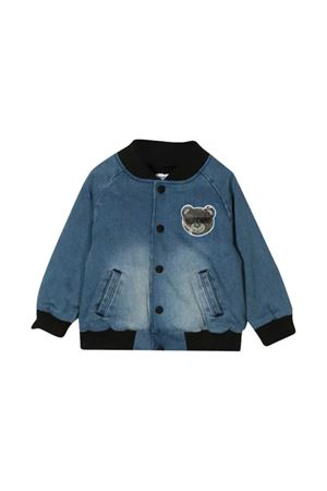 Toy Bear denim bomber jacket Moschino kids MOSCHINO KIDS | 13 | MUS01OLXE2340030