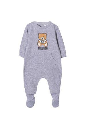 Tutina neonato grigia Moschino Kids MOSCHINO KIDS | 1491434083 | MUT01MLDA1460901