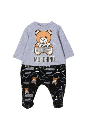 Gray pajamas Moschino Kids  MOSCHINO KIDS | 1491434083 | MUT01PLBB3884502