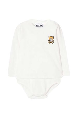 Newborn white body Moschino Kids  MOSCHINO KIDS | 32 | MUT01TLAA1010063