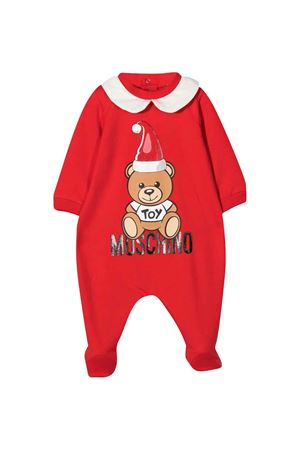 Red onesie Moschino Kids  MOSCHINO KIDS | 1491434083 | MUT01VLDA2250109