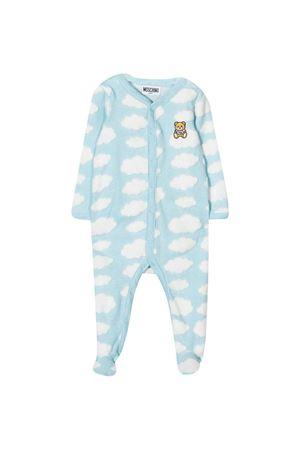 Tutina azzurra neonato Moschino Kids MOSCHINO KIDS | 1491434083 | MUT01XLAF0080446