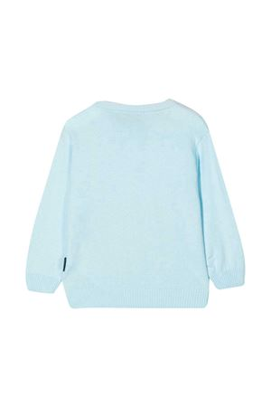 Light blue sweater Moschino Kids  MOSCHINO KIDS | 7 | MUW00JLHE0940304