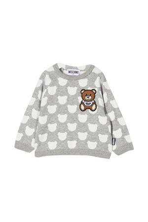Gray sweatshirt Moschino Kids  MOSCHINO KIDS | 7 | MUW00LLHE0384242