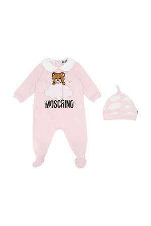 Set tutina rosa con stampa toy frontale Moschino kids MOSCHINO KIDS | 75988882 | MUY02XLCE0080432