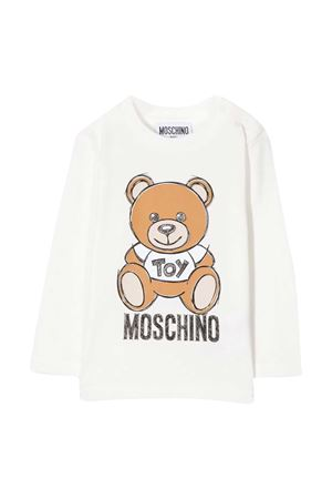 White t-shirt with frontal toy press Moschino kids MOSCHINO KIDS | 8 | MVO000LBA1110063