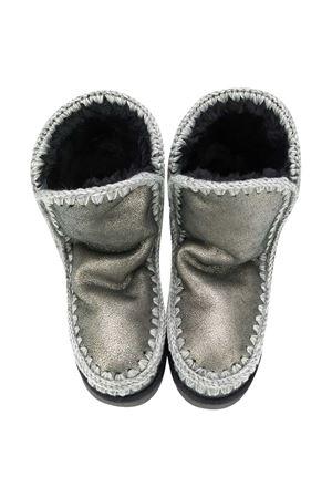 Stivali Eskimo grigio metalizzato teen Mou Kids Mou kids | 12 | 101000BDUBLKT