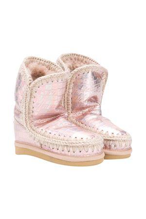 Metallic pink Eskimo boots Mou Kids  Mou kids | 12 | 101000CIRCROB