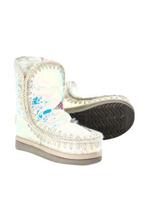 Stivali Eskimo bianco metalizzato Mou Kids Mou kids | 12 | 101000CIRCWHI
