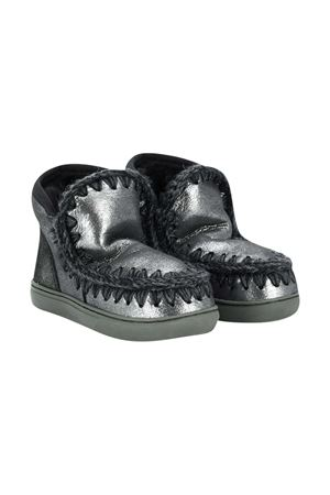 Gray boots teen Mou Kids  Mou kids | 12 | 101000CMGEGRYT
