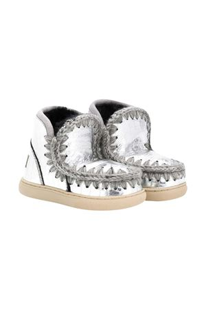 Mou Kids silver teen boots Eskimo model Mou kids | 90000020 | 111000CMIRSILT