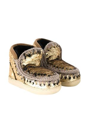 Gold ankle boots Mou Kids Mou kids | 90000020 | 111000GSEQGOL