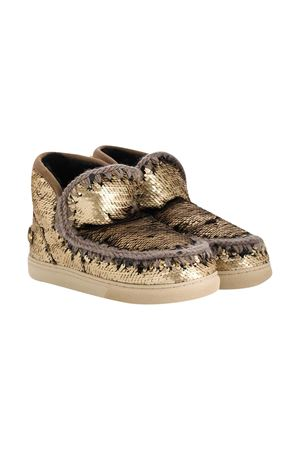 Mou Kids gold ankle boots Mou kids | 90000020 | 111008GSEQGOL