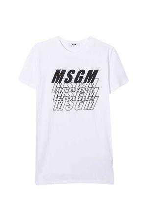 White T-shirt teen MSGM kids  MSGM KIDS | 8 | 025040001T