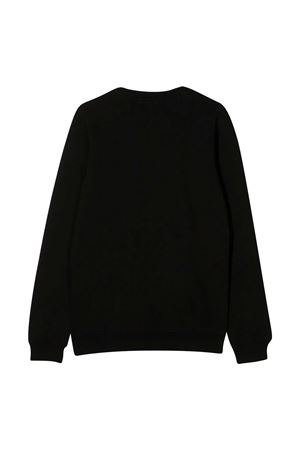 Black sweatshirt with frontal logo MSGM kids MSGM KIDS | -108764232 | 025045110